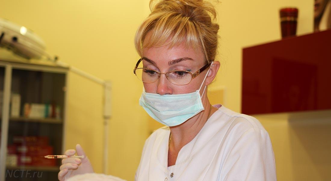 Косметолог в Самаре Пересекова ЮА колет ботокс